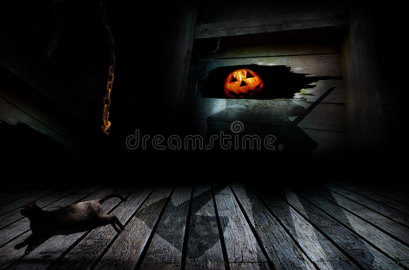 Halloween Jack o lantern stock photography