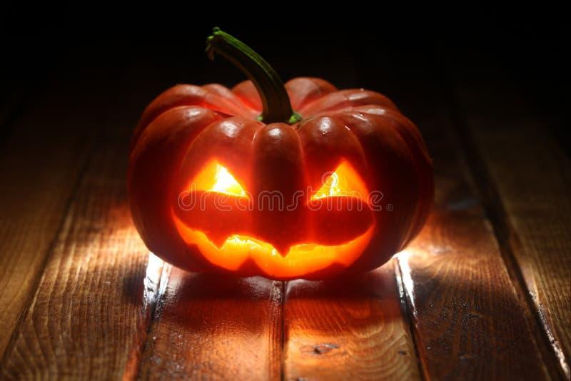 Halloween jack o' lantern background stock images