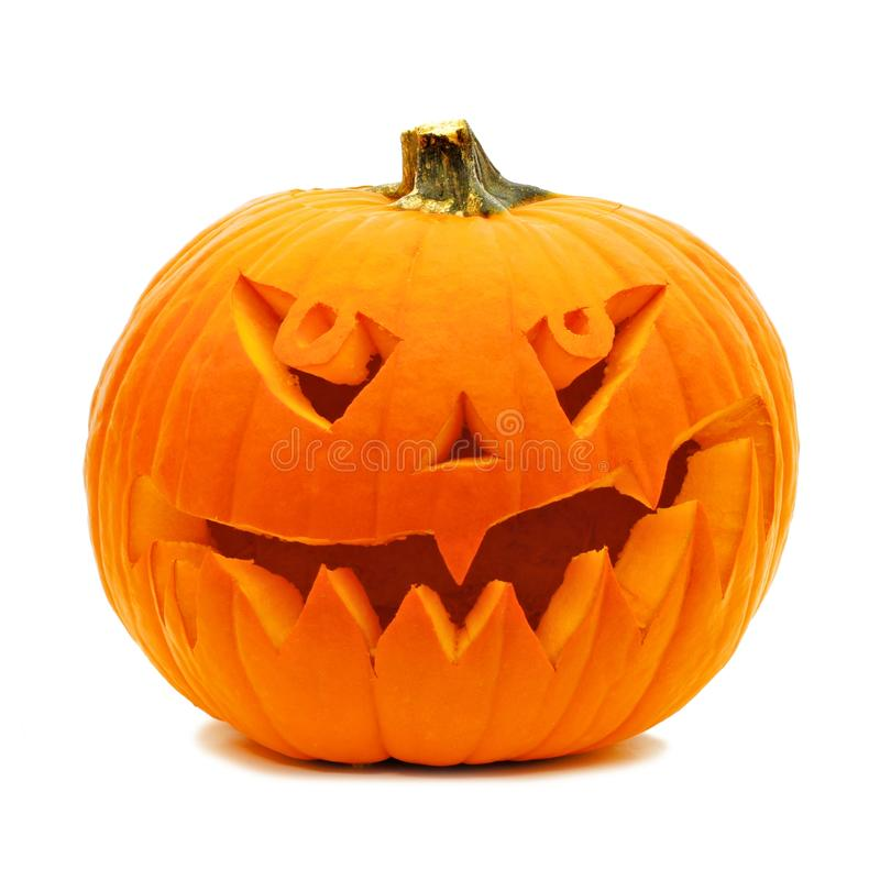 Halloween Jack o Lantern stock photos