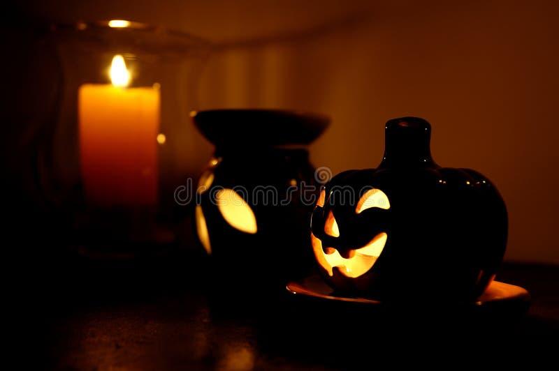 Download Halloween-Kürbis 02 stockfoto. Bild von laterne, leuchte - 37204