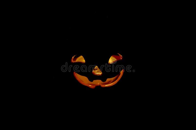 Download Halloween-Kürbis 03 stockfoto. Bild von dunkel, orange, kerze - 37206