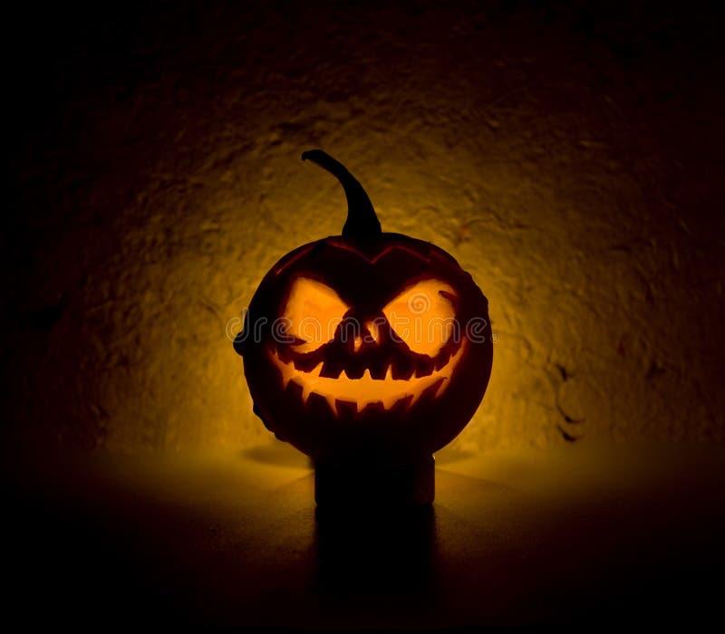 Halloween-Kürbis stockfoto