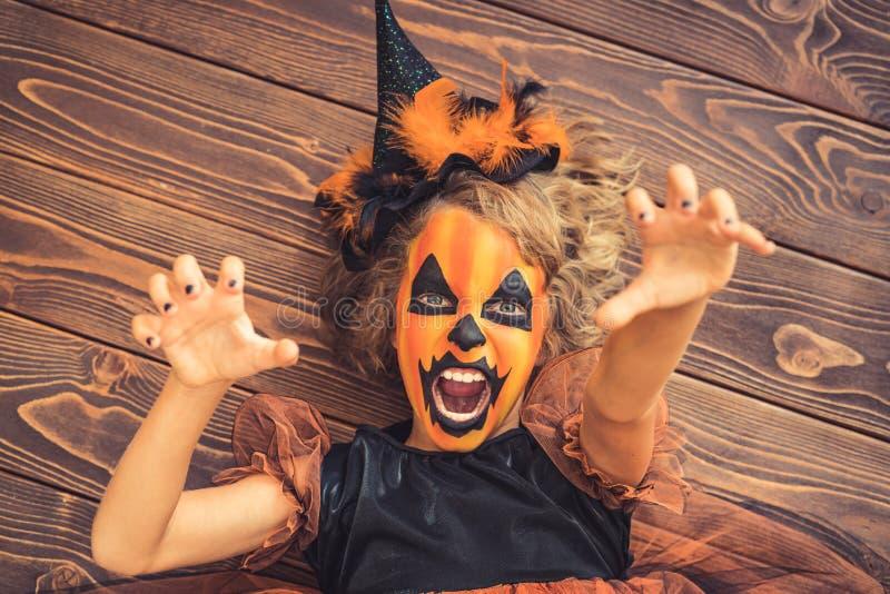 Halloween-Kürbis Autumn Holiday Concept stockbilder