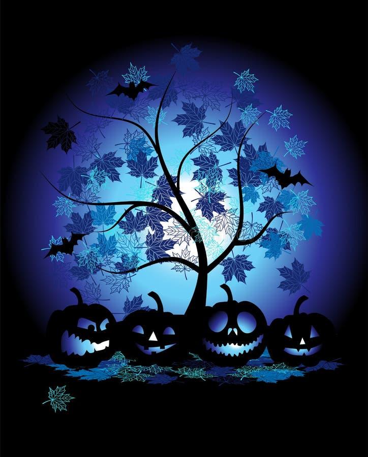 Halloween-Kürbisabbildung vektor abbildung