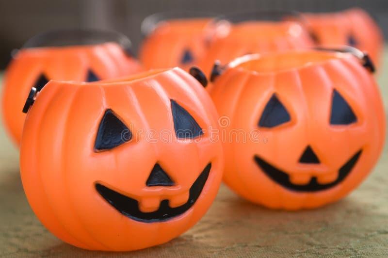 Halloween-Kürbise lizenzfreie stockfotografie