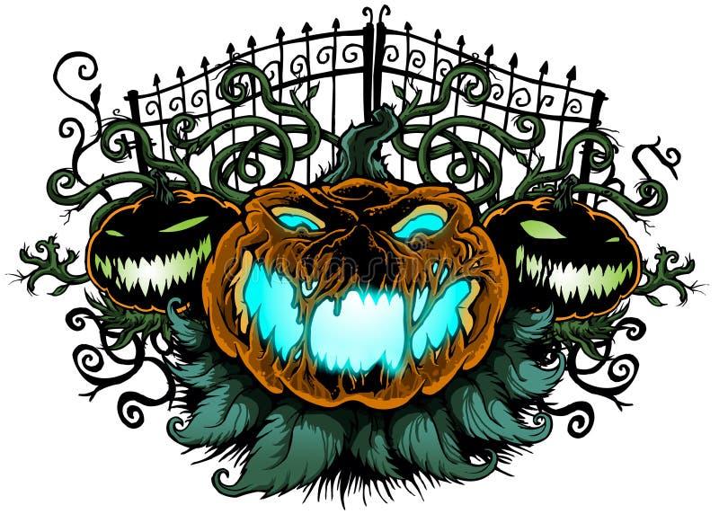 Halloween-Kürbise lizenzfreie stockbilder