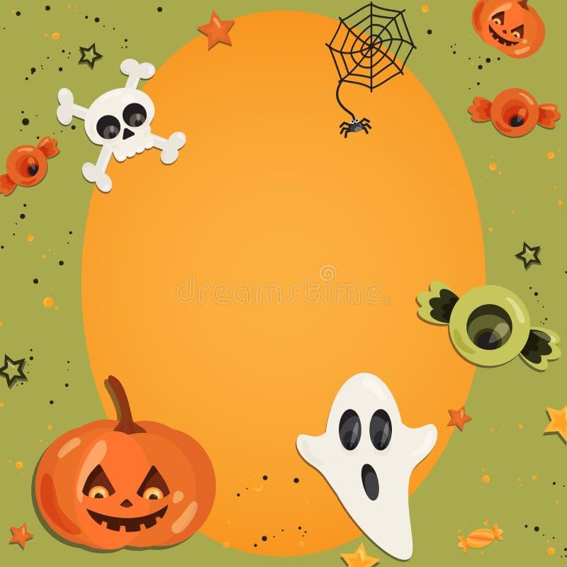 Atemberaubend Halloween Rahmen Craft Fotos - Benutzerdefinierte ...