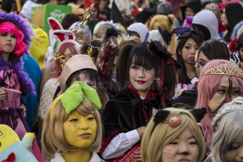 Halloween in Kawasaki Japan stockbilder