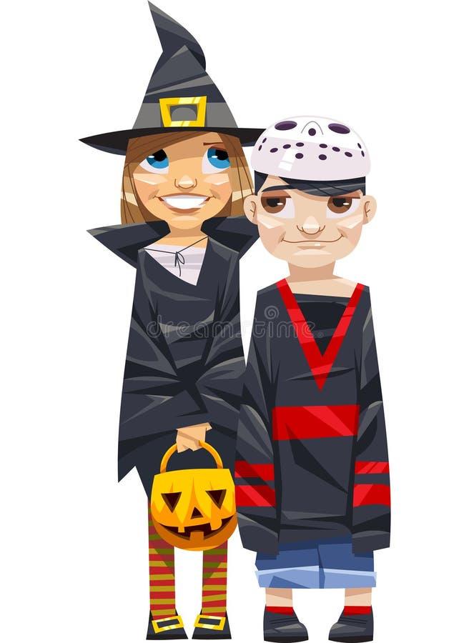 Halloween kids stock image