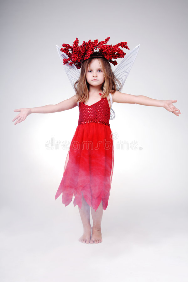 Halloween-Kleid. lizenzfreie stockbilder