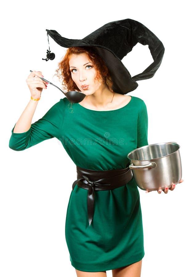 Halloween-Koch stockfoto