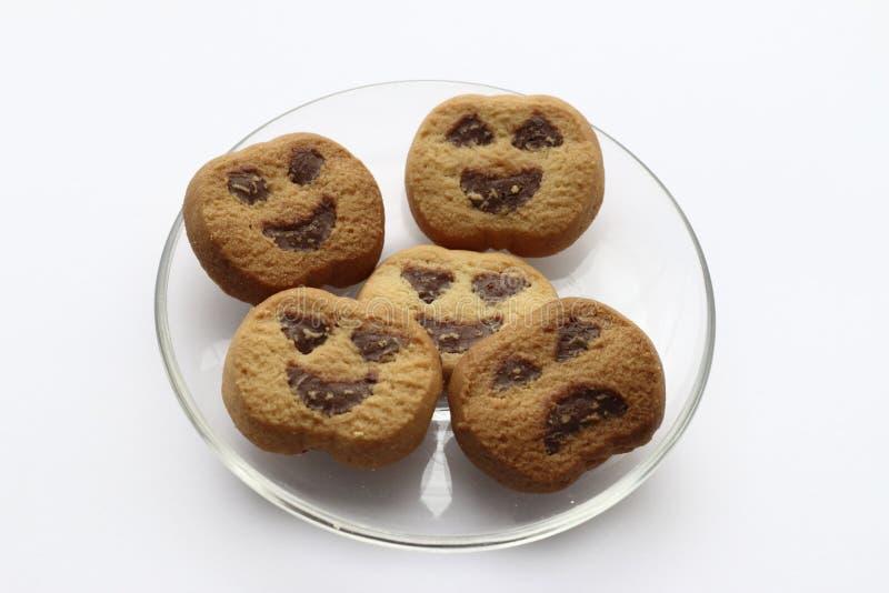 Halloween-koekjes stock afbeeldingen