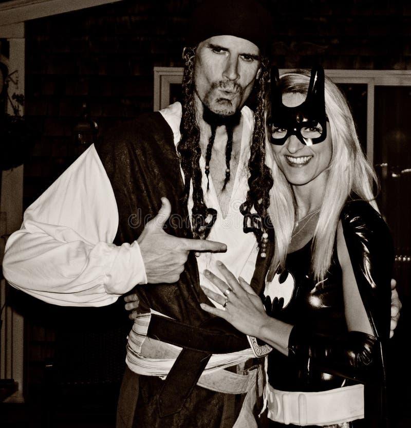 Halloween-Kostuums stock foto's