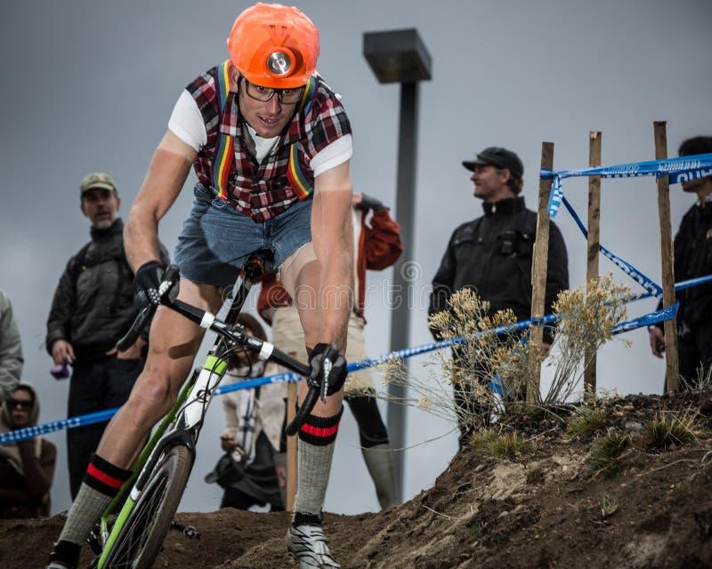 Halloween-Kreuz-Kreuzzug Cyclocross stockfoto