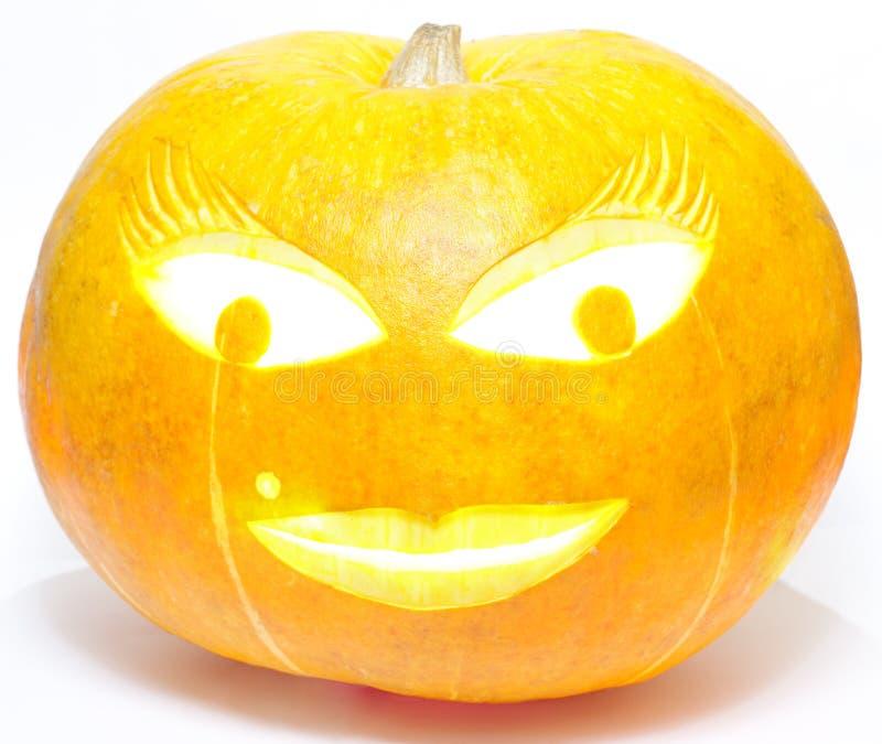halloween ladypumpa arkivfoton