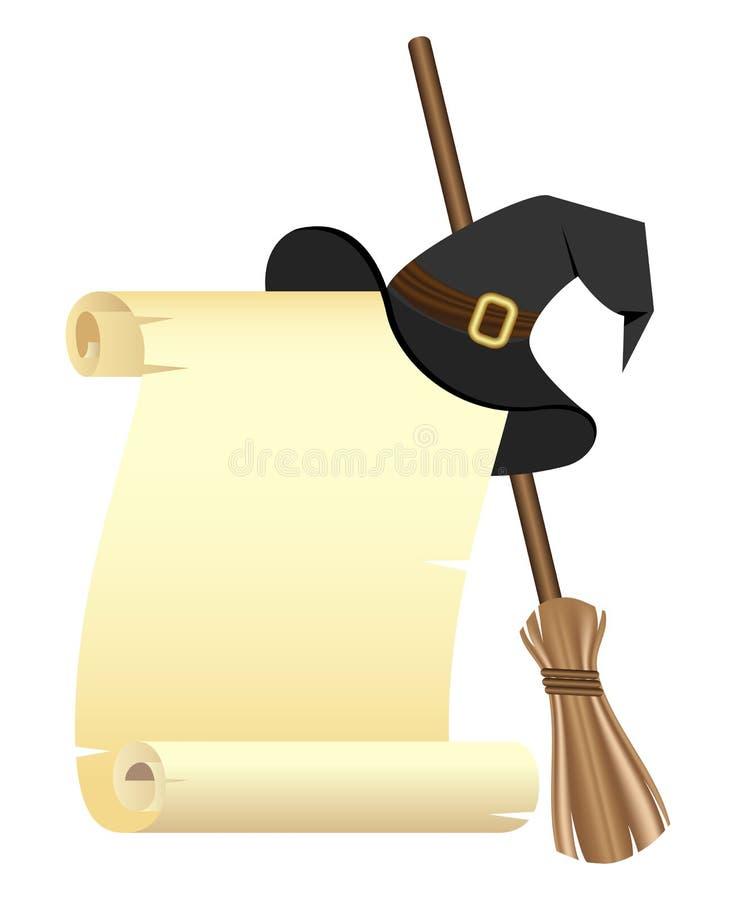Halloween-Leerzeichen vektor abbildung