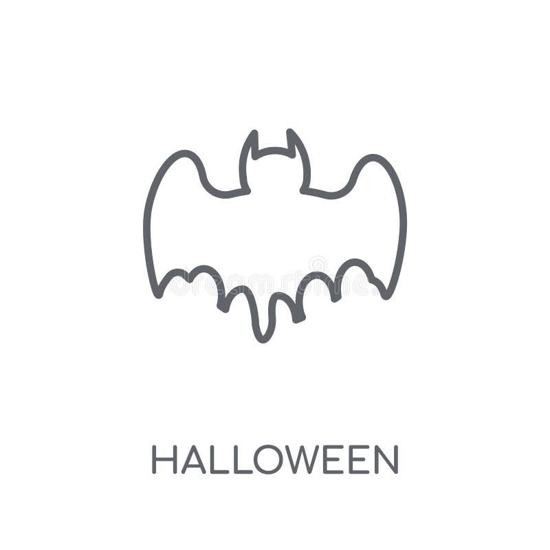 Halloween linear icon. Modern outline Halloween logo concept on stock illustration