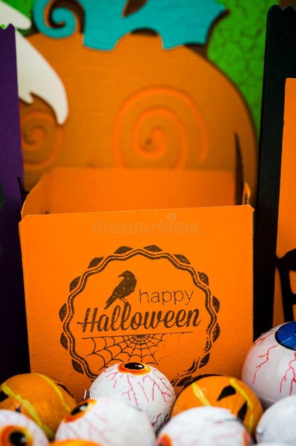 Halloween - métiers de Halloween - ouvrage de papier image libre de droits