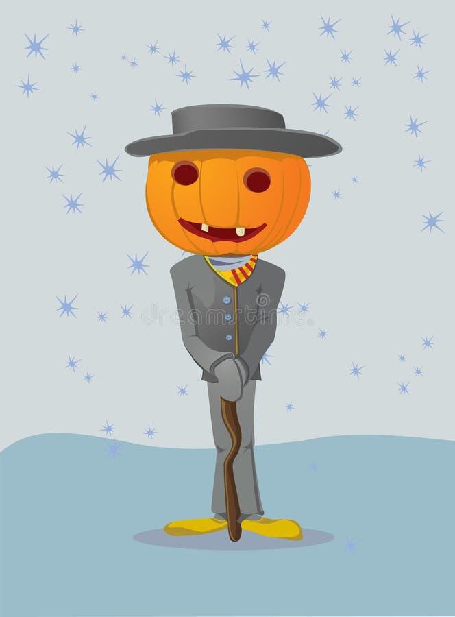 Halloween man stock illustration