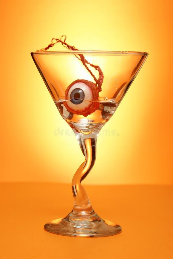 halloween martini fotografering för bildbyråer