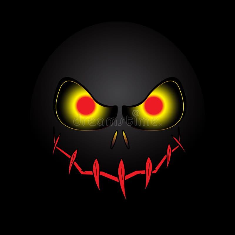 Halloween Mask Background. Is a general illustration vector illustration