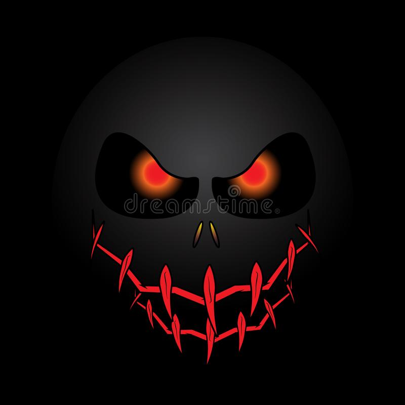 Halloween Mask Background. Is a general illustration stock illustration