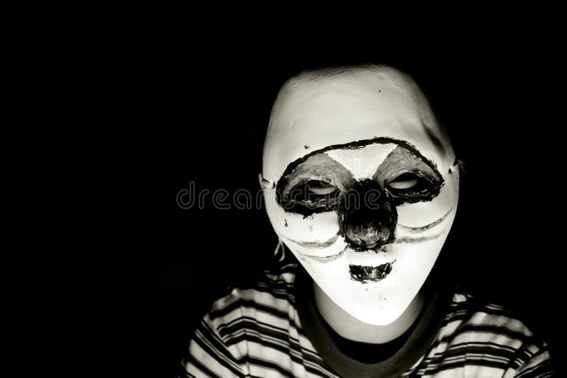 Halloween maskerar royaltyfri fotografi