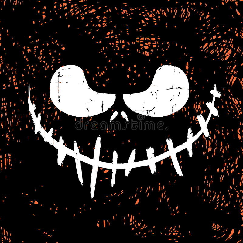Halloween maski tło obraz royalty free