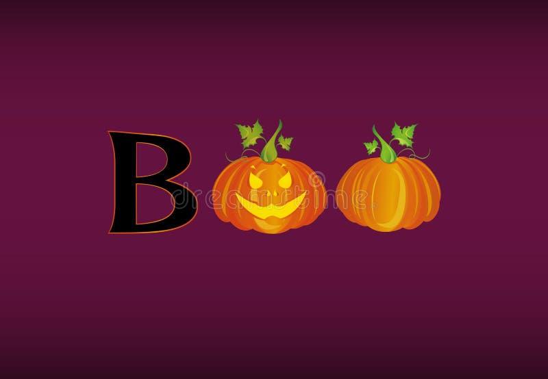 Halloween message boo from pumpkins vector words for invitation download halloween message boo from pumpkins vector words for invitation stock vector illustration m4hsunfo