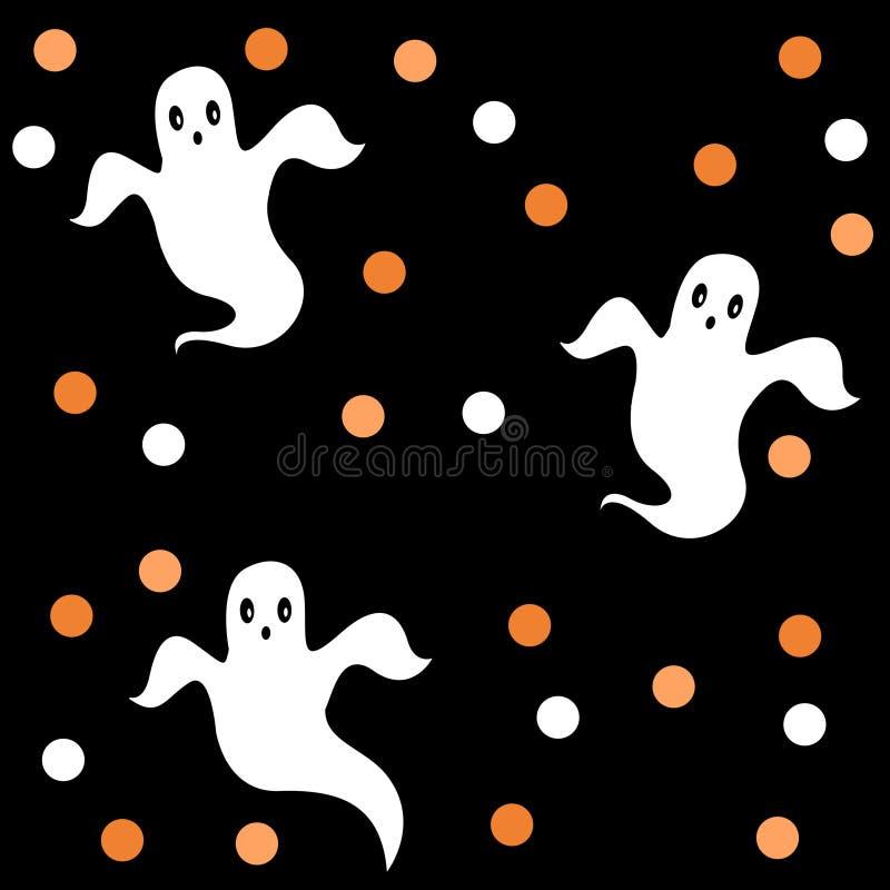 Halloween modell/bakgrund vektor illustrationer