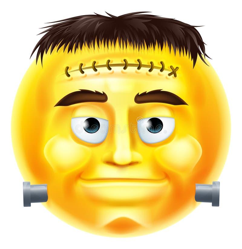 halloween monster emoji emoticon stock vector