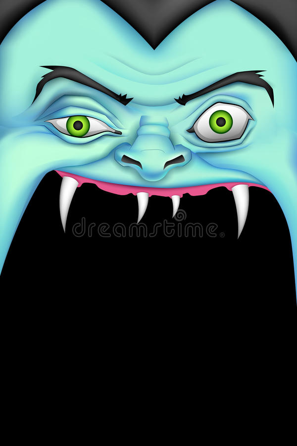 Download Halloween Monster stock vector. Image of crazy, aggression - 34218716