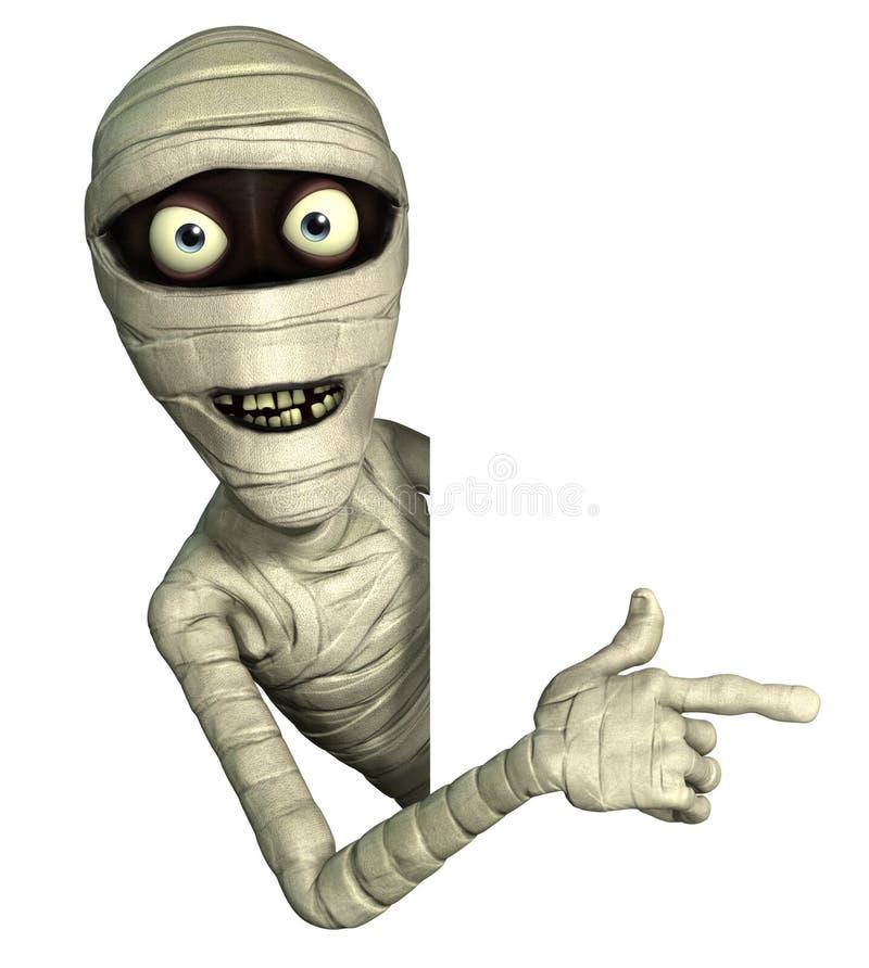 Halloween mummy stock illustration