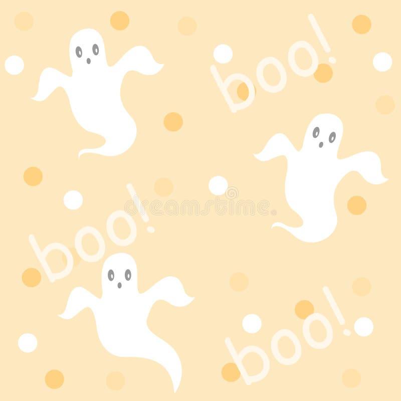 Halloween-Muster/Hintergrund vektor abbildung