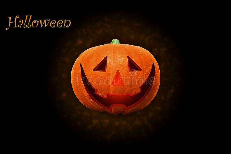 Halloween Mystical Jack O. Pumpkin Lantern. Spooky Halloween Poster. Halloween background wallpaper with pumpkin jack lantern. The. Sinister eyes of a pumpkin stock image