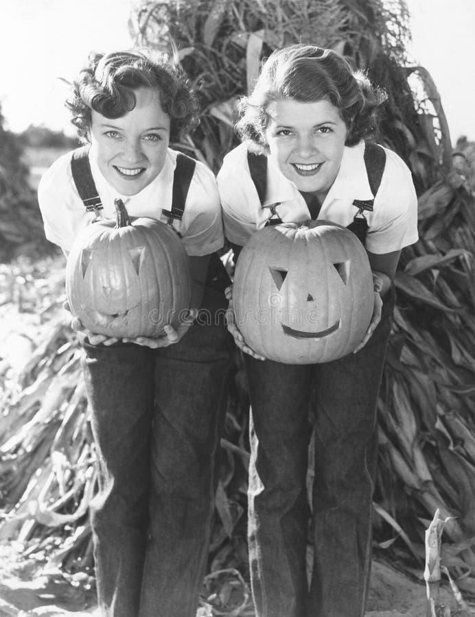 Halloween na exploração agrícola fotos de stock