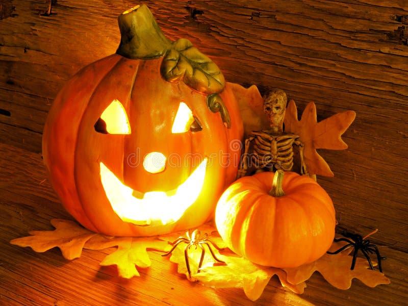 halloween natt royaltyfria bilder