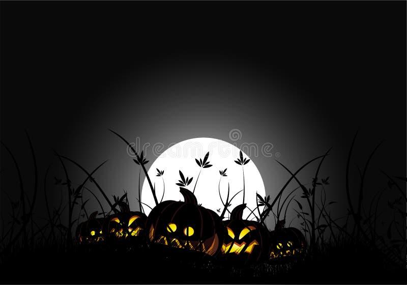 Halloween night royalty free stock photography