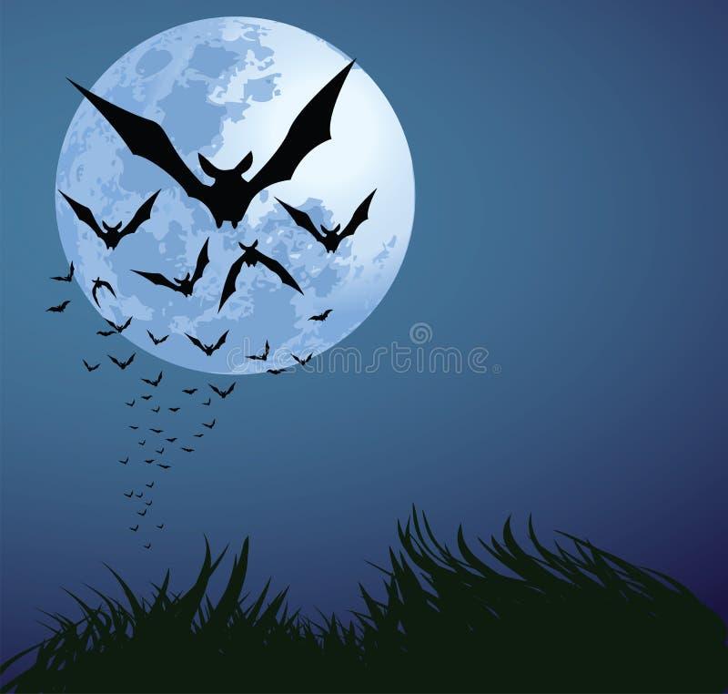 Download Halloween night stock vector. Image of spooky, moonlight - 15884898