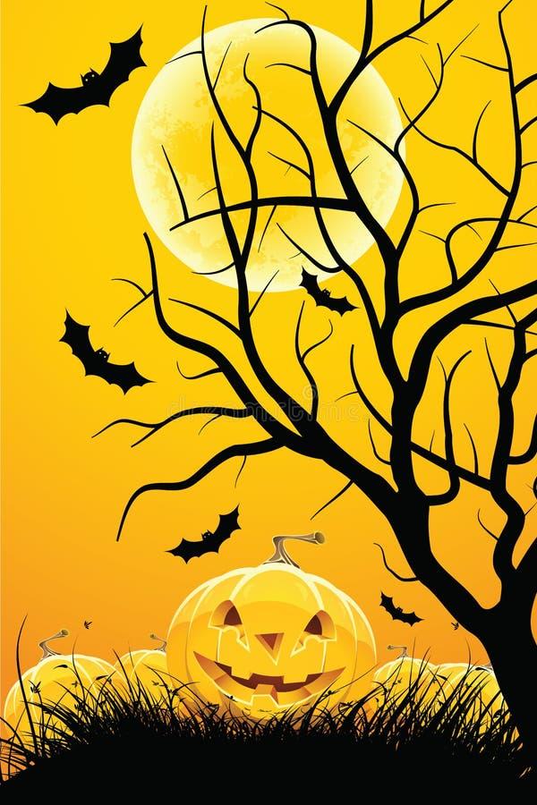 Halloween night stock photos