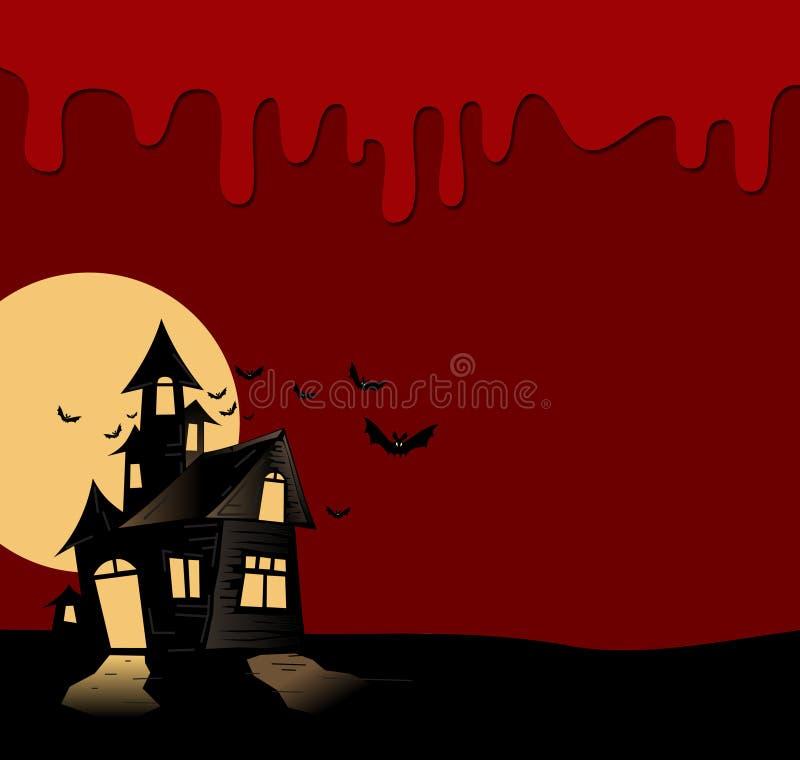 Download Halloween night stock illustration. Image of cartoon - 27152780