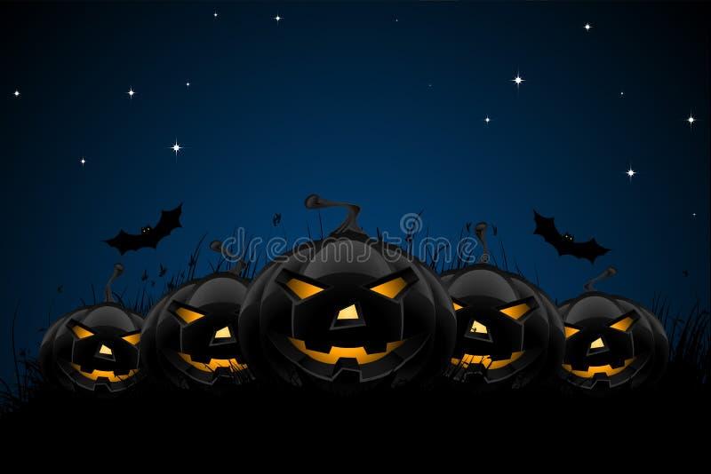 Halloween night background royalty free stock photos