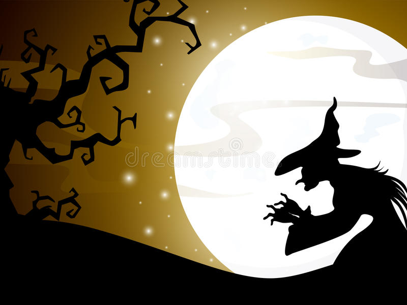 Download Halloween night background stock vector. Illustration of horror - 26645953