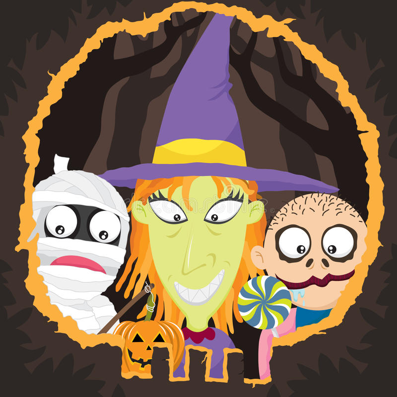 Halloween Night-Trick Or Treat Royalty Free Stock Images