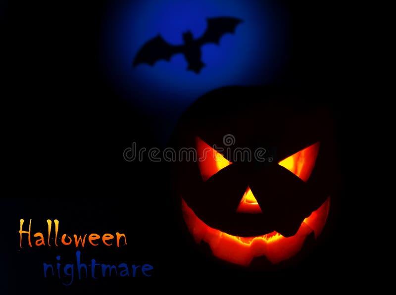 Halloween nightmare royalty free stock photos
