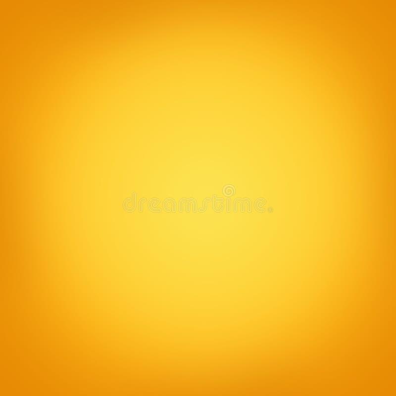 Thanksgiving or Halloween orange background texture. Halloween bright background. Gradient orange background stock illustration