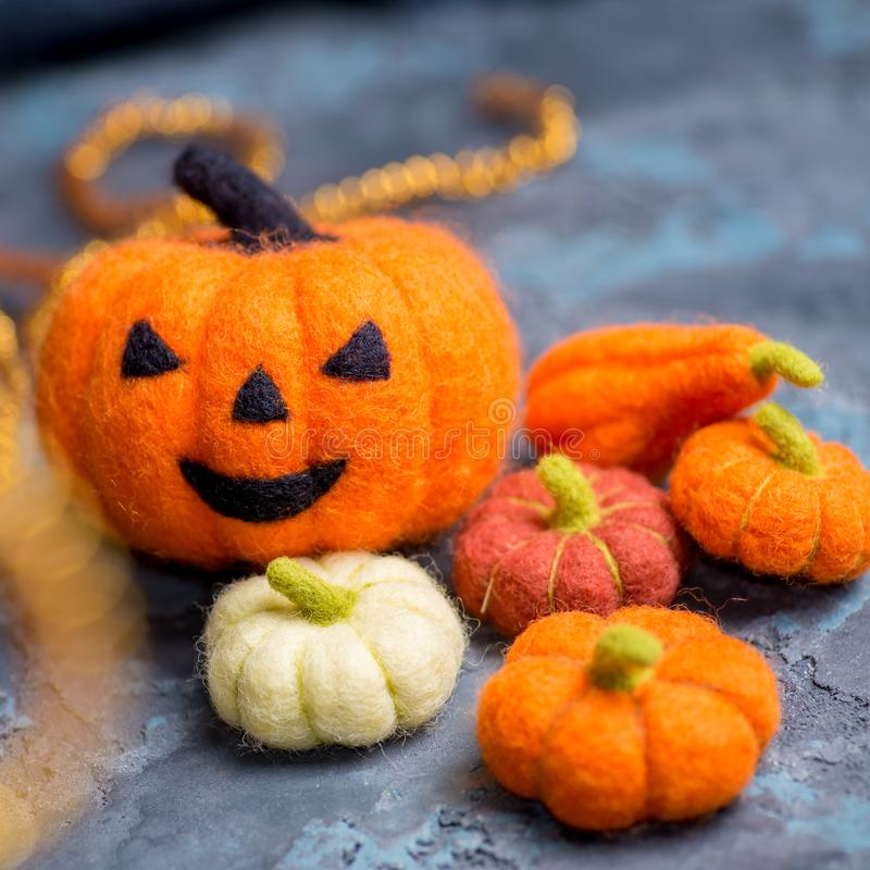 Halloween orange pumpkin royalty free stock image