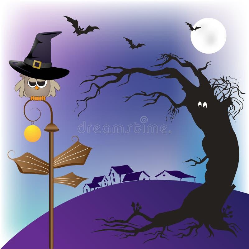 Free Halloween Owl Royalty Free Stock Photos - 10746658