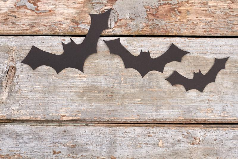 Halloween Paper Bats Stock Image Image Of Horror Fear
