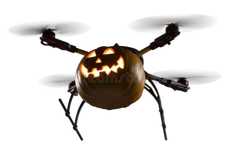 Halloween parla monotonamente il bianco immagini stock libere da diritti